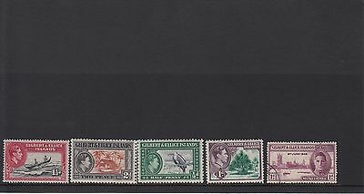 SW62 Selection of Mint & Used Gilbert & Ellice Islands Stamps