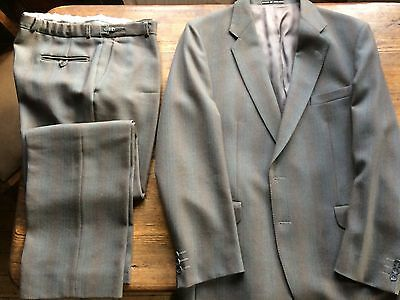 Vintage 100% Wool Gent's suit by Dunn & Co