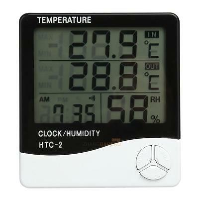 Digital LCD Thermometer Hygrometer Outdoor/Indoor Temperature Humidity Meter New