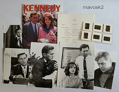 Kennedy (Tv Series 1983) Press Kit. Martin Sheen
