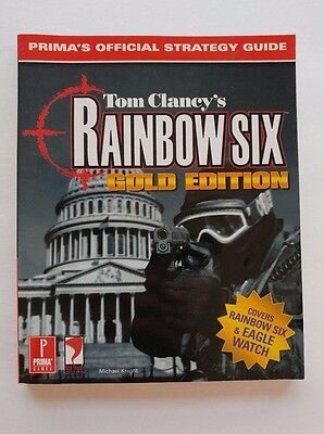 Tom Clancy's Rainbow Six Gold Edition Prima Official Strategy Guide 1999