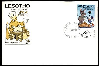 Lesotho Lesotho December 2, 1985 First Day Cover The Wishing Table