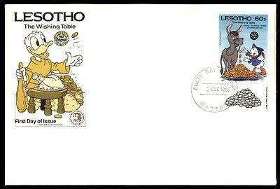 Lesotho Lesotho The Wishing Table December 2, 1985 First Day Cover