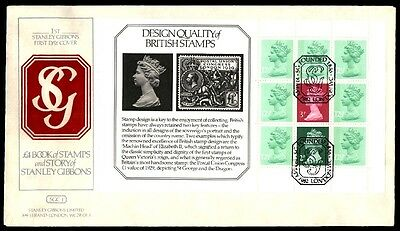 Book Of Stamps Stanley Gibbons Maxi Card First Day Cover 1982