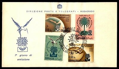 Somalia 1960 Mondiale Refugiato First Day Cover April 7 1960