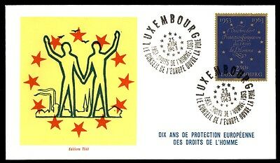 June 25, 1963 Luxembourg Editions Thill Conseil Europe La Voie First Day Cover