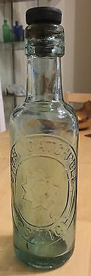 Great Star Pictorial Cyril Catchpole Ipswich Suffolk Mineral Water Bottle
