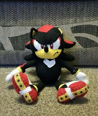 Black Sonic the Hedgehog soft toy