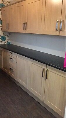 Used Fitted Kitchen Units, Worktop Less Than 6mths Old