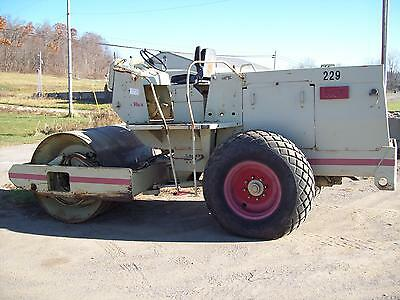 "1985 Rex Sp-600 72"" Smooth Drum Diesel Vibratory Soil/stone Roller"