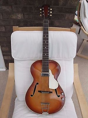 Triumph Guitar:Parlour:Vintage 1950s:Archtop.Electro-acoustic:Good condition