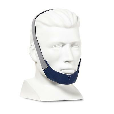 NEW ResMed 6SH3zk1 Chin Restraint Strap Sound Sleep Aid PAP Nasal Mask Soft Blue