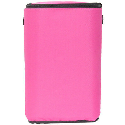 "Pink Brush Stop With Zippered Top-8""X12""X5"" 40131"