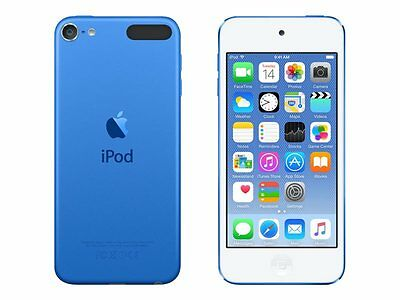 Apple iPod Touch 6th Generation 4 Inch 8MP 16GB - Blue NEW Sealed