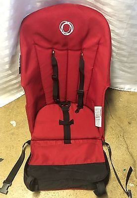 Bugaboo Frog Canvas Seat Base. Red. 1st. Generation