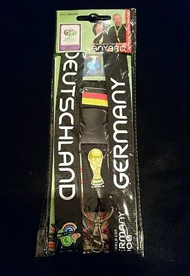 2006 world cup Germany official licensed product lanyard