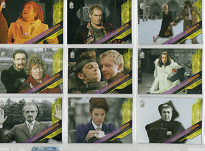 Dr Doctor Who Timeless  -  16-card Time Travellers chase lot NM Topps 2016