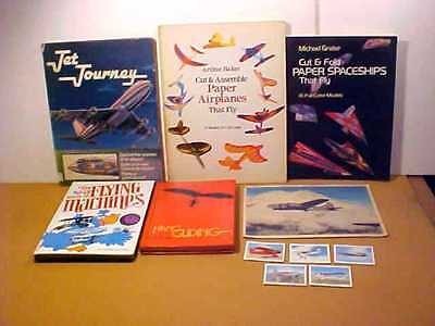 Pop-Up Book Of Flying Machines, Cut & Assemble Planes & Spaceships, Wings Cards