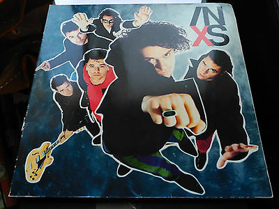 Lp Inxs - X - Mercury Europe 1990 Gatefold Vg/vg+