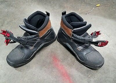 Mens THOR 50/50 BOOT Motocross MX Motorcycle ATV Racing Boots - Size 8