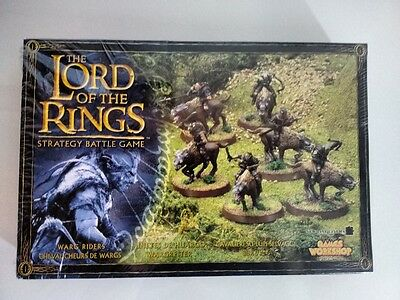 Cavalieri su Lupi Selvaggi (Warg Riders) - Lord Of The Ring - Games Workshop