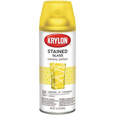 Stained Glass Paint 11.5oz-Canary Yellow STG-9035