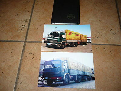 Hungarocamion Budapest, RABA  Iveco truck  photoes and  calender book 1971