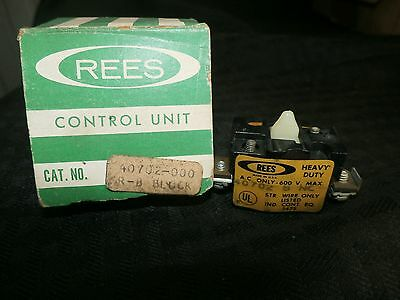 Rees Auxiliary Contact  40702 B NC New