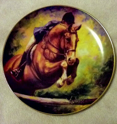 "Collectors Plate ""Up and Over"" by Sandra Severson #55"