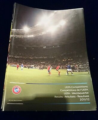 Uefa competitions 2011/12 results brochure champions league Europa