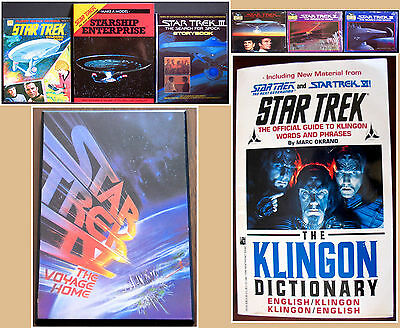 Huge Collection Star Trek Books Records Laminated Poster From Movies & Tv Ex++