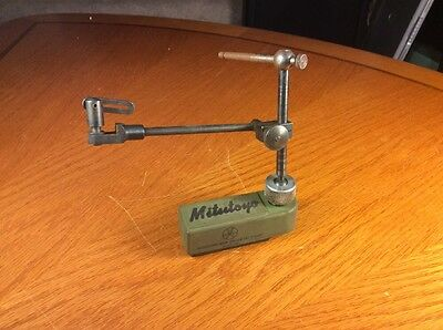 Vintage Mitutoyo Mini Magnetic Dial Indicator Holder Stand Only