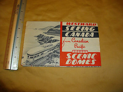 westward seeing canada from canadian pacific scenic domes written tour book