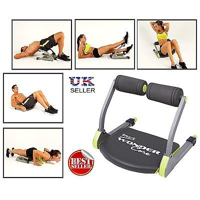 WonderCore Smart Total Body Exercise System Ab Toning Workout Fitness Gym Abs