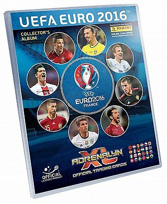 Binder EURO 2016 Adrenalyn XL Complete 459 cards Plus 28 cards limited