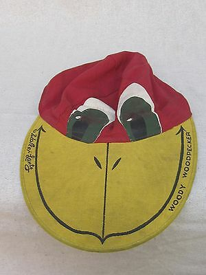 Woody Woodpecker Cap 1950's Vintage Collectable