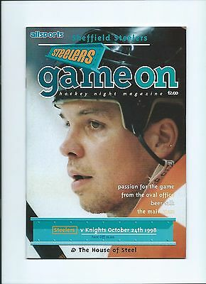 98/99 Sheffield Steelers v London Knights  Oct 24th