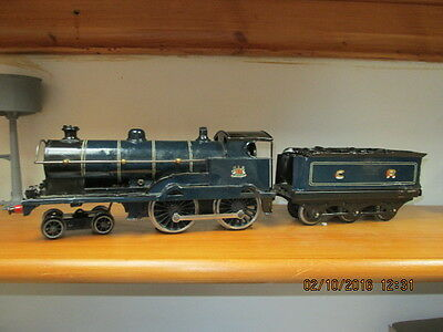 Bassett Lowke 0 Gauge George The Fifth, 3 Rail As Caledonian 4-4-0 Re-Paint
