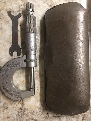 Moore and Wright micrometer 0-1''