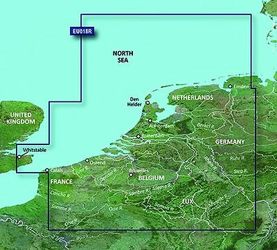 BlueChart g2 Vision - HEU018R - The Netherlands Offshore Inland Waters