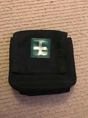 "Ex Police First Aid Pouch For 2"" Kit Belt. Used. 117."