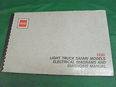1992 gmc truck rally vandura electrical diagnosis wiring diagrams 1990 gmc light truck safari electrical diagnosis wiring diagrams manual x 9043