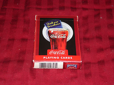 Collectible Coca Cola 52 Playing Cards Full Deck