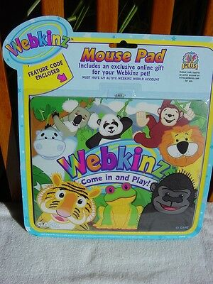 """Webkinz Mouse Pad """" It's A Jungle"""" ~ New with Code"""