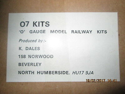 0 GAUGE  BODY AND CHASSIS KIT ( NO WHEELS / MOTOR ) FOR A L & Y.Rly. 2-4-2T