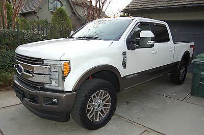 """2017 Ford F-250 KING RANCH 2017 FORD F-250 SUPERDUTY KING RANCH 4X4 DIESEL """"MSRP $76250.00"""" 2400 MILES"""