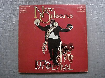 New Orleans Jazz And Heritage Festival 1976 LP EX-
