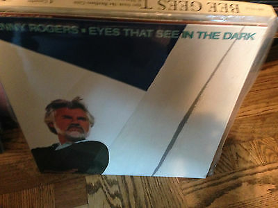 Bee Gees Kenny Rogers Vinyl Record SEALED LP Eyes That See In The Dark