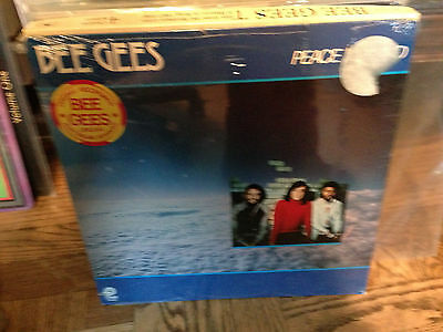 Bee Gees Vinyl Record SEALED LP Peace Of Mind