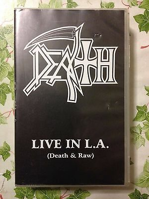 Death / Chuck Schuldiner - Live In L.A. (Death & Raw) VHS